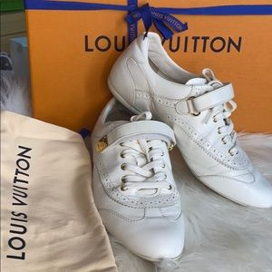 Louis Vuitton White Sneakers